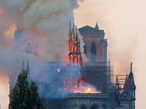 France vows to rebuild iconic Notre Dame cathedral