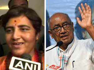 Sadhvi Pragya Thakur joins BJP, to contest against Digvijaya Singh from Bhopal