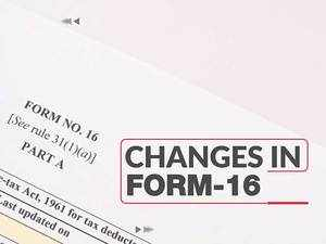 Watch: Changes in Form 16 will change your ITR filing