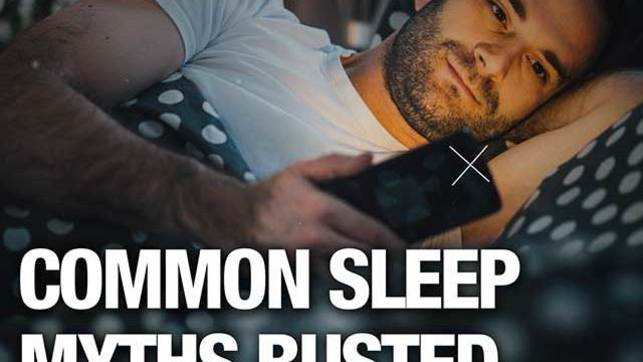 Common myths busted: 5 hrs of sleep not enough, can be fatal