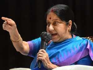 No Pakistani soldier or citizen died during Balakot air strike: EAM Sushma Swaraj