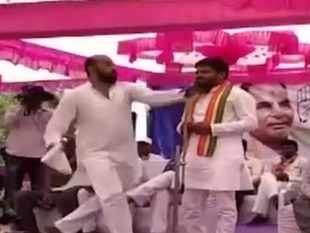 Gujarat: Congress leader Hardik Patel slapped during rally in Surendranagar