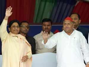 Mayawati shares stage with Mulayam Singh Yadav, calls PM Modi a 'fake OBC'