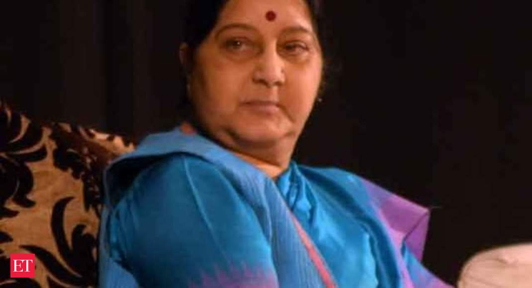 EAM Sushma Swaraj asks Indians stranded in Tripoli to leave immediately