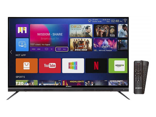 Shinco 4K UHD Quantum Luminit Smart LED TV: Shinco 4K UHD