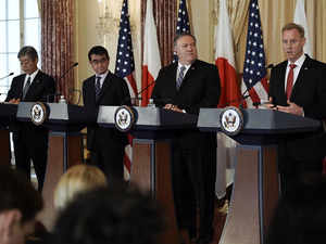 Japan-US 2+2 welcomes growing ties with India