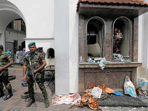 718e89db507 COLOMBO: The St. Sebastian's Church in the western coastal town of Negombo  bore the brunt of a series of powerful blasts across Sri Lanka on Easter  Sunday, ...