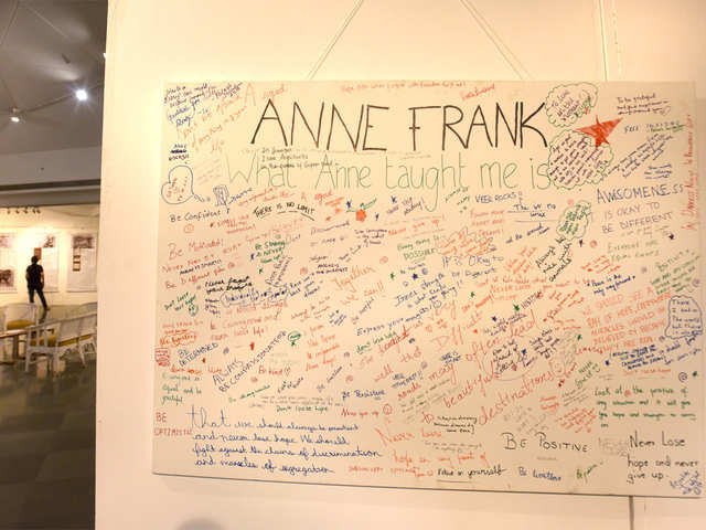 A look at the Holocaust through Anne Frank's eyes - The
