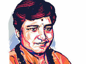 EC orders FIR against Sadhvi Pragya for Babri Masjid remark