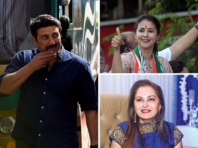 It's counting day today and all eyes are on the political scoreboard.  From seasoned to the newbies, a bunch of stars are trying their luck at the polls today. Actor-producer Sunny Deol, Urmila Matondkar and Gautam Gambhir are hoping to score on their debuts today.   Here are some film stars who have dabbled in politics over the years.
