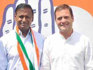 Disgruntled MP Udit Raj quits Bharatiya Janata Party, joins Congress