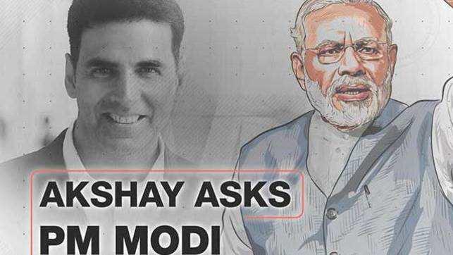 Akshay Kumar asks Modi: Do you personally follows  social media chatter?