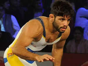 Amit settles for silver, Aware for bronze in Asian Wrestling C'ships