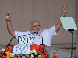 "Narendra Modi calls Mamata Banerjee ""sticker didi"""