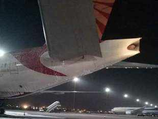 Air India Delhi-San Francisco flight's Auxiliary Power Unit catches fire