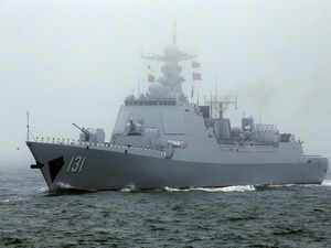 Chinese military silent over Pakistan naval ships absence at Chinese navy fleet review