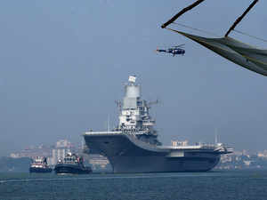 Naval officer dies firefighting on Indian aircraft carrier