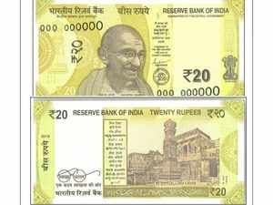 RBI to issue new 20 rupees denomination note