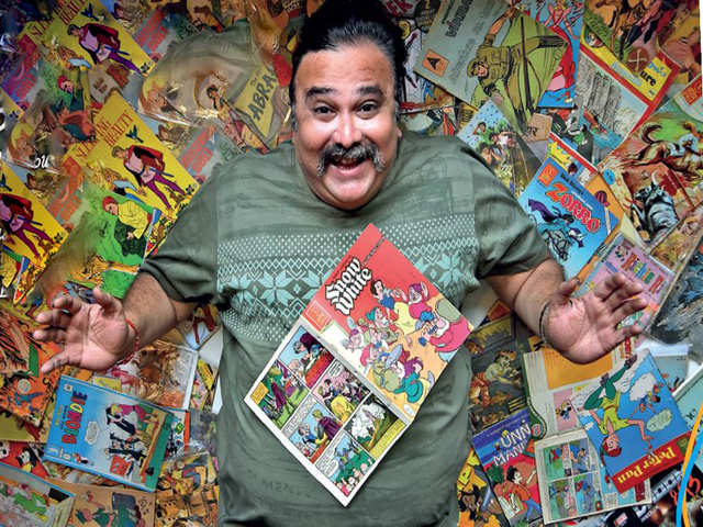 Comic commerce: What fuels the mini economy of vintage Indian comic books