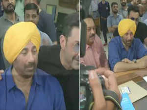 BJP's Sunny Deol files nomination from Gurdaspur, Punjab