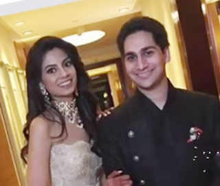 Aishwarya Gupta & Ruchir Dalmia get engaged; grandfather Anand Rathi over the moon