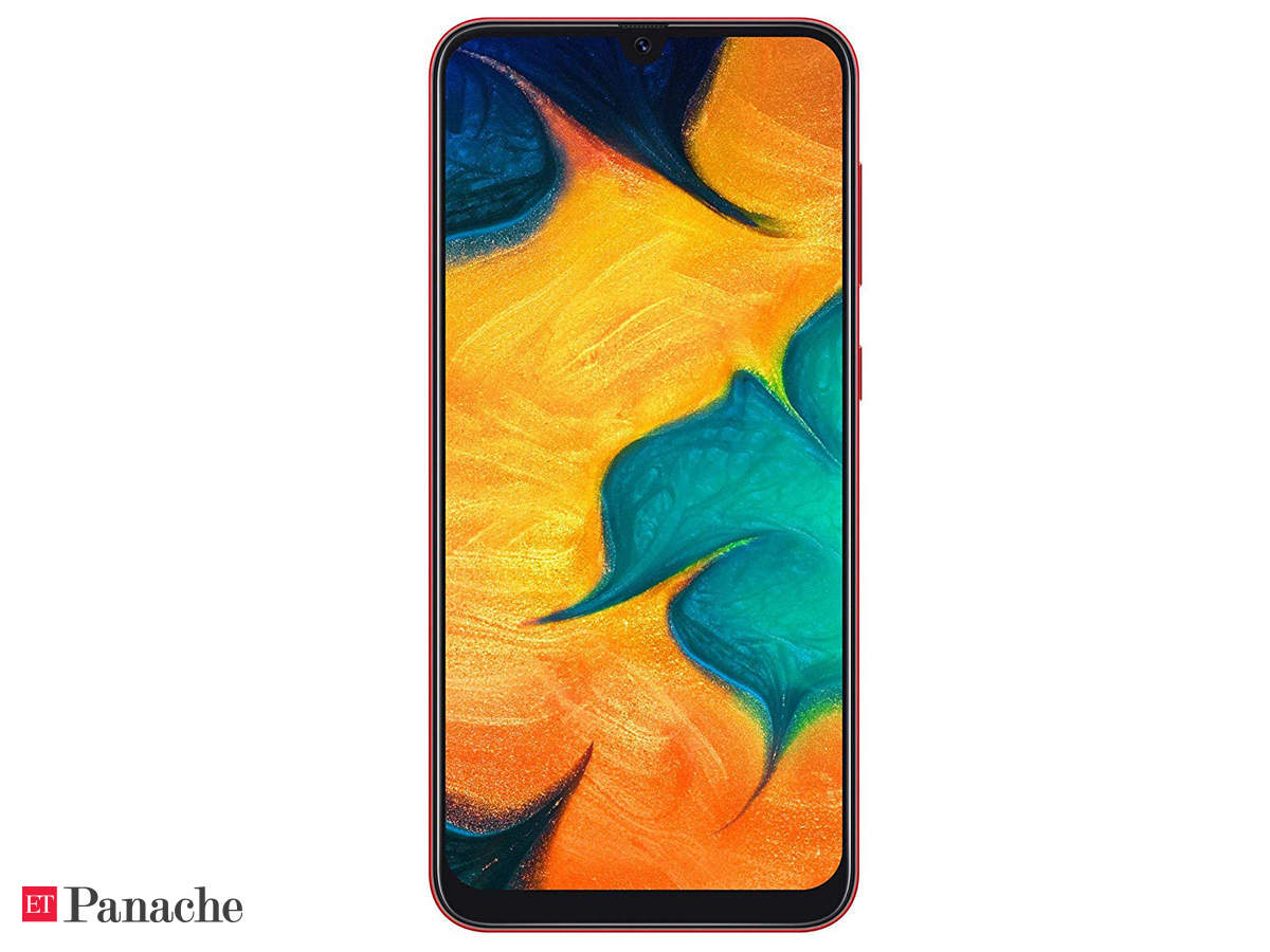 Samsung Galaxy A30 Review Good Display But Disappointing Value The Economic Times