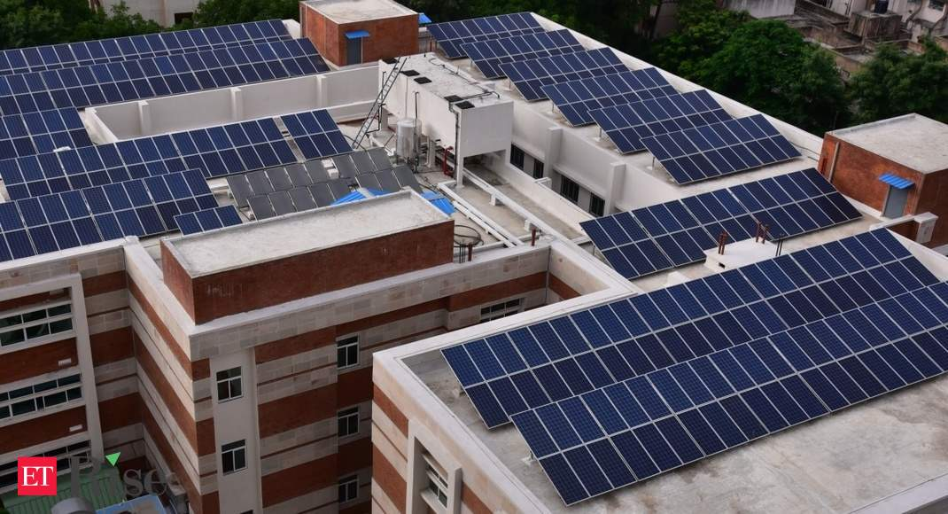 thin film solar panel: Thin film solar panel: Most suitable for  applications with large rooftops or wide open spaces - The Economic Times