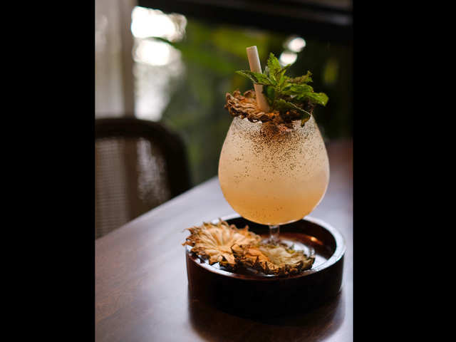 Move over, cosmo and martini: Sip into summer with a glass of Mezcal Swizzle