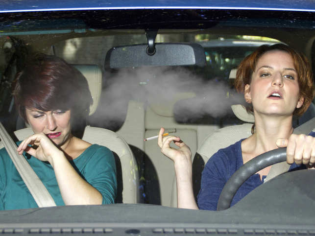 passive smoking could have a detrimental effect  may up
