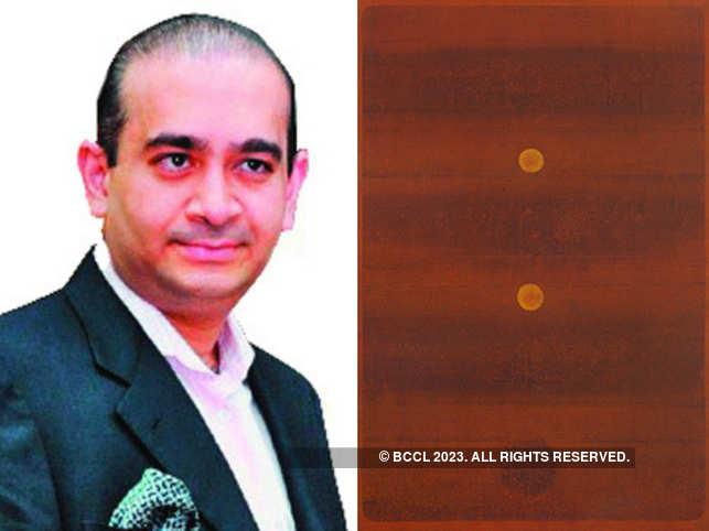 Nirav Modi (L) and