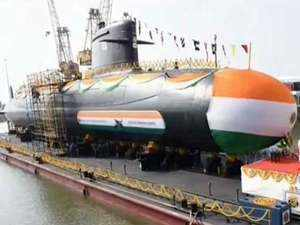 INS Vela: Indian Navy launches fourth Scorpene-class submarine Vela in Mumbai