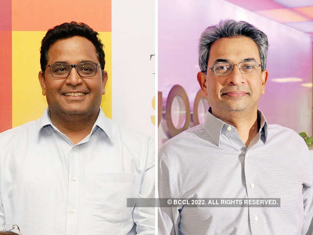 Vijay Shekhar Sharma and Rajan Anandan