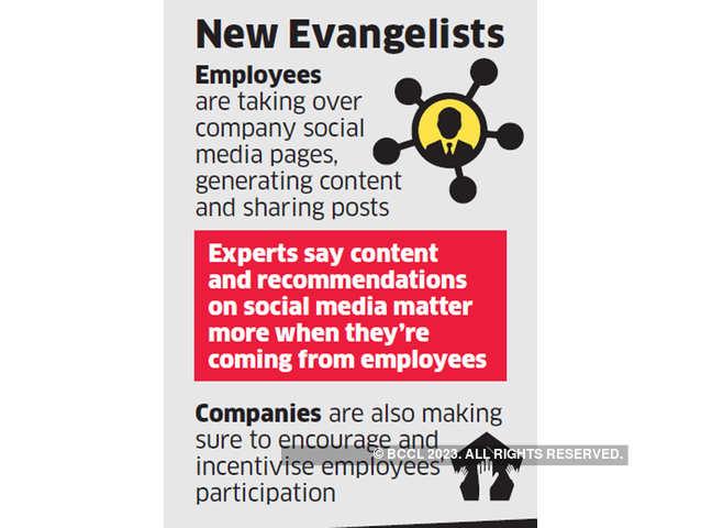 Employees take social media route to showcase company - The Economic