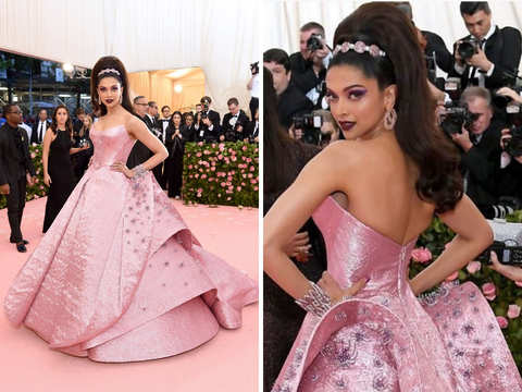 The Golden Boy Met Gala Pink Carpet Isha Ambani Priyanka Deepika S Camp Style Lady Gaga S Outfit Changes The Economic Times