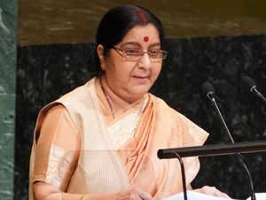 SushmaSwaraj.AFP