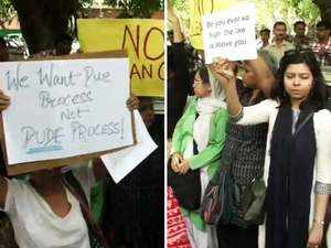 Women lawyers, activists protest against clean chit to CJI Ranjan Gogoi