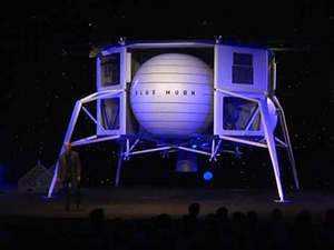 Amazon tycoon Jeff Bezos says he'll send a spaceship to the moon