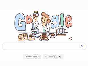 Google fetes Lucy Wills with doodle on 131st birth anniversary