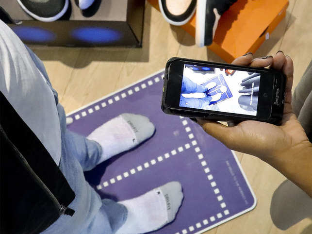 d6861d216c nike: Struggling to find the right-sized sneakers? Nike is using AR ...