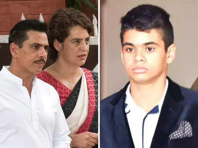 Robert Vadra & Priyanka Gandhi's 19-year-old son