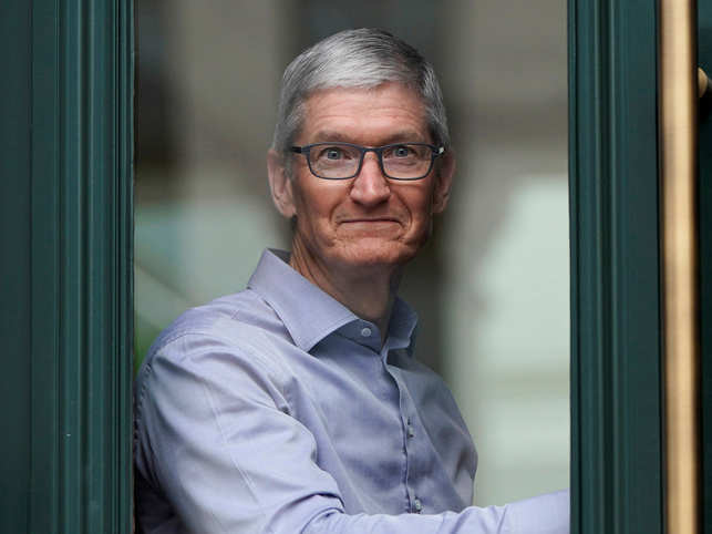 Tim Cook inaugurates a library that's the most extensive historic restoration project in US