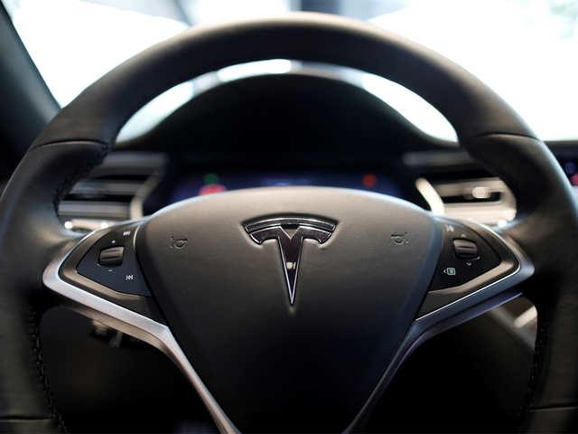 Tesla Model S catches fire in Hong Kong parking lot