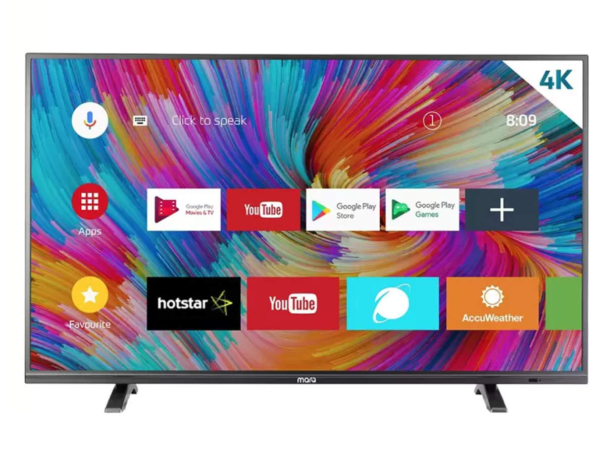 MarQ LED Smart Android TV review: Ultra-thin bezels