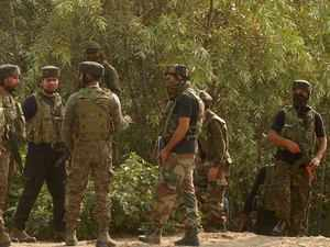 3 militants, soldier killed in J&K gunfight