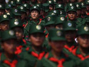 In a first, Myanmar jails 24 northeast militants