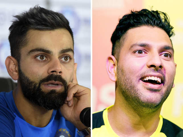 Guess which city? Virat Kohli puts up a picture to tease fans, gets trolled by Yuvraj Singh