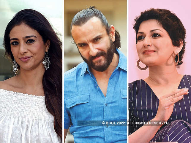 (L-R) Tabu, Saif Ali Khan and Sonali Bendre were acquitted last year in April.