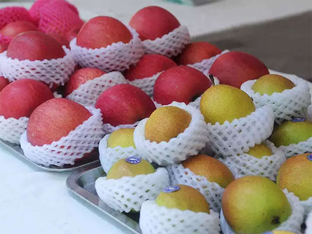 Business community mulls to air freight fresh fruit from Kashmir due to frequent Highway blockade