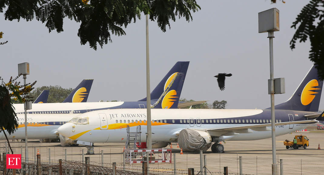 Jet Airways lenders weigh paying off $30-million US Exim Bank loan & take charge of 6 aircraft - Economic Times