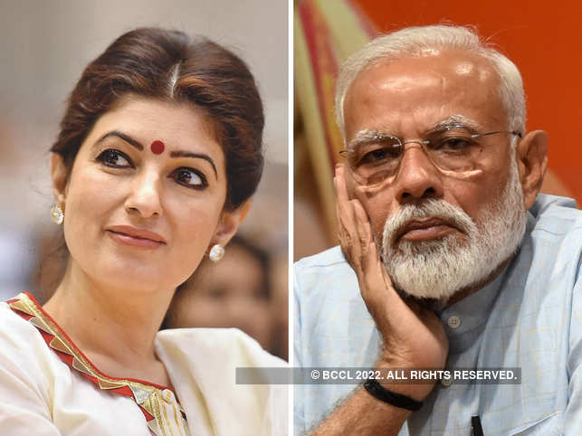 Twinkle Khanna took an apparent jibe at PM Modi's meditation session in Kedarnath caves.